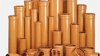 Безнапорные канализационные трубы ПВХ(PVC)